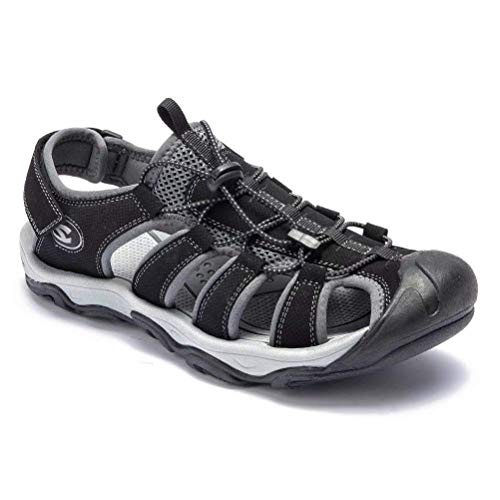 a37acf065696 HOBIBEAR Men Outdoor Hiking Sandals Breathable Athletic Climbing Summer  Beach Shoes