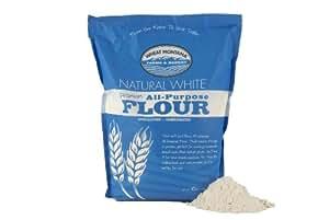 Amazon.com : Wheat Montana Natural White Flour, 10 Pound