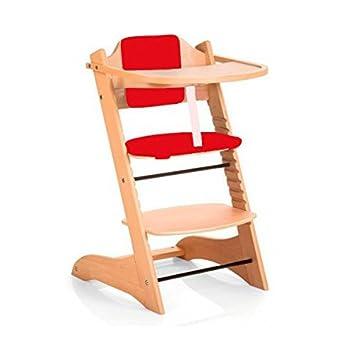 chaise haute evolutive bois pliable