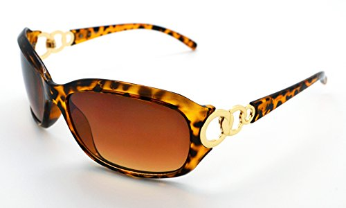 VOX Polarized Trendy Classic Womens Hot Fashion Sunglasses w/FREE Microfiber Pouch - Brown Cheetah Frame - Brown - Cheetah Glasses Frames