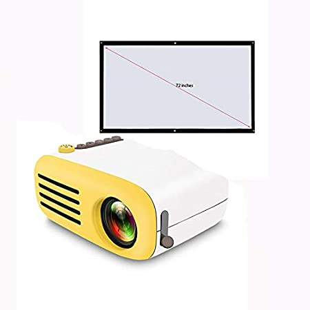Link Co Mini proyector Full HD 1080P Enfoque Manual Fuente de ...