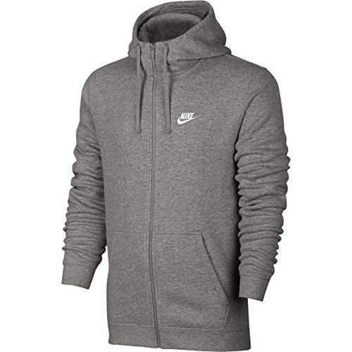 Club M Grey Flc Hoodie Sudadera Gris Fz Nike Para Nsw Heather Hombre dk xqHTdPXnXw
