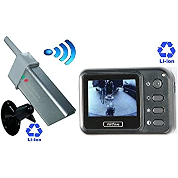 4UCam Magnetic Portable Wireless Camera System Rechargeable Battery Built-in Monitor and Wireless Magnetic Camera