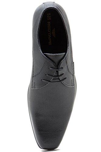 Red Vestir Hombre De Tape Zapato Negro r8xrR0