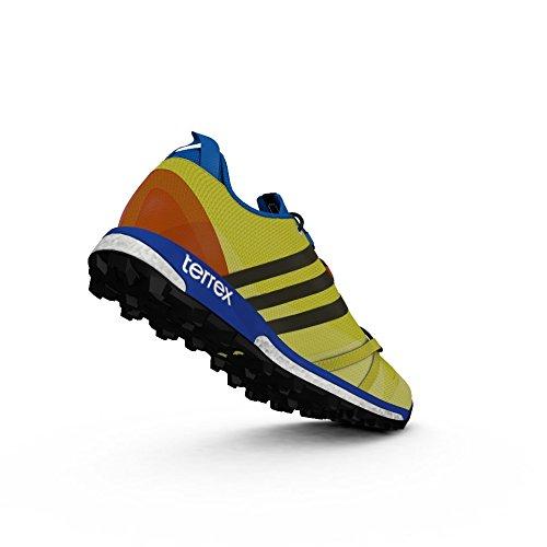zapatos para caminar al aire libre de los hombres de adidas Terrex Agravic núcleo gris oscuro / negro / gris de alimentación rojo / Negro - AF6134 bright