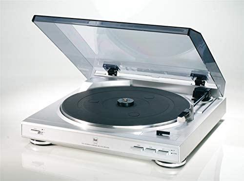 Dual CS410S tocadisco - Tocadiscos (DC, Plata): Amazon.es ...