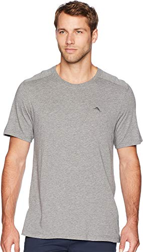 Tommy Bahama Men's Crew Neck Lounge T-Shirt Heather Grey ()