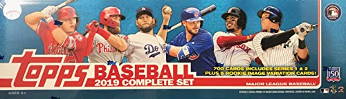 2019 Topps Baseball Cards Retail Factory Set (700 Cards 5 Rookie Variations)