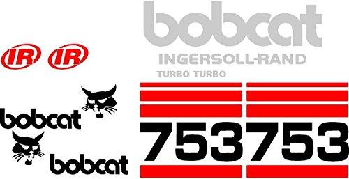 New Bobcat IR Ingersoll - Rand 753 Turbo Skid Steer Whole Machine Decal ()