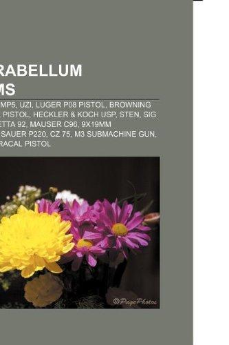 9mm Parabellum Firearms Heckler Koch Mp5 Uzi Luger P08 Pistol Browning Hi Power Glock Pistol Heckler Koch Usp Sten Sig Sauer -