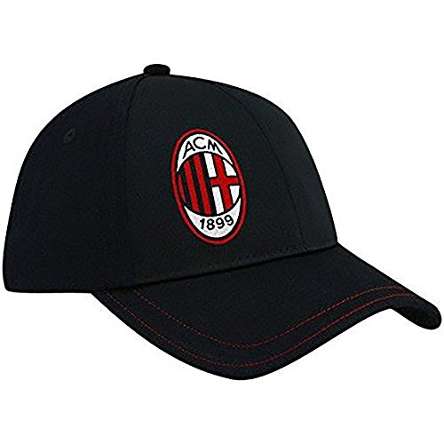 adidas AC Milan Black Club Team Adjustable Hat