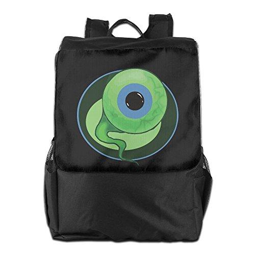 Amurder Outdoor Jacksepticeye Sam The Septic Eye Travel Backpack Shoulder Rucksack Bag Unisex Black