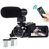 Video Camera Camcorder,ACTITOP 1080P FHD Camcorder 24.0MP 16X Digital Zoom Vlogging Camera