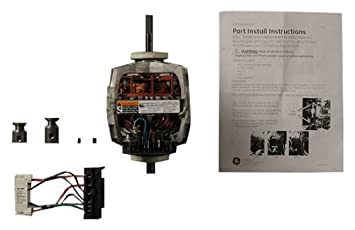 41vWwrdIbZL._SX355_ amazon com ge we17x10010 motor kit for dryer home improvement we17x10010 wiring diagram at fashall.co