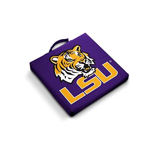 Lsu Seat Cushion - Logo Brands NCAA LSU Fightin Tigers Bleacher Cushion