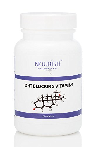 Healthy Hair Plus - DHT Blocker Vitamins supplement for men and women - 60 tablets