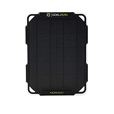 Goal Zero Nomad 5 Solar Panel | 5 Watt Monocrystalline Solar Panel, Perfect for USB Phone Solar Charging: Home Improvement