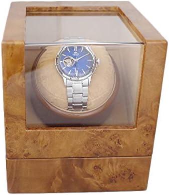 ワインダー ワインディングマシーン 1本巻き 腕時計用品 KA821-04 ライトブラウン【ユニセックス】 [並行輸入品]
