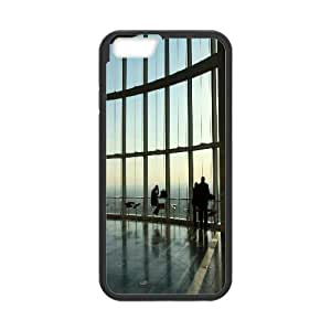 Iphone 6 Case, tall building Case for Iphone 6 4.7 screen Black tcj568414 tomchasejerry