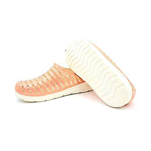 Sandales DULEE Plateforme Orange Plateforme Femme DULEE Sandales pUn67F