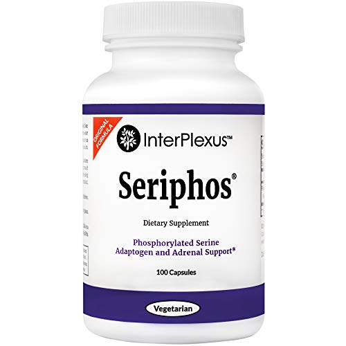 (Seriphos for Adaptogen and Adrenal Support by InterPlexus, 100 capsules)