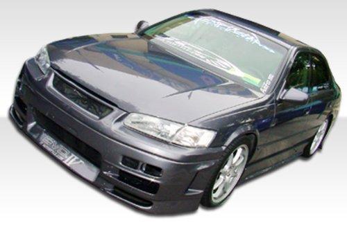 1997-2001 Toyota Camry Duraflex Evo 4 Kit- Includes Evo 4 Front Bumper (101922), Kombat Rear Bumper (101921), and Evo 4 Sideskirts (101923). - Duraflex Body Kits
