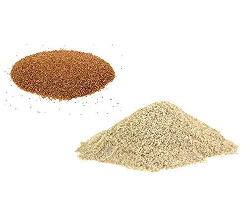 Farina di Teff marrone 20kg senza glutine: Amazon.es: Salud ...