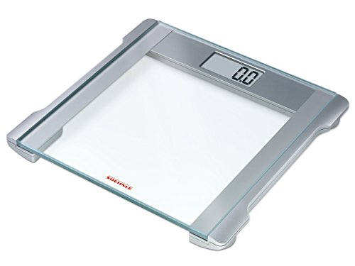 Soehnle Classic Melody 2.0 Digital Bathroom Scales 63740 - Glass & Chrome Plated