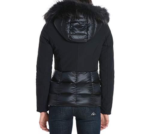 Rrd Noir Manteau Dr Polyamide W17505f60 Femme 6tRHwq