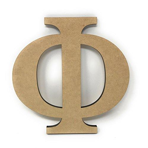 Phi Greek Letter (Simple Woodworks 6