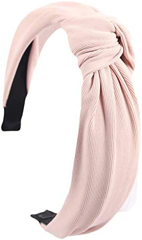 Flamingo Knotted headbands for women coral fabric headband turban headband summer beach navy blue boho headband hair accessories small mediu