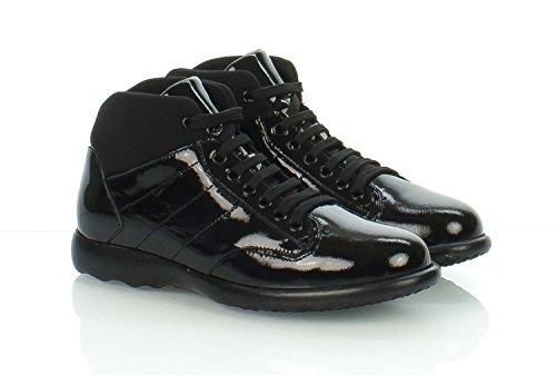 FRAU - Zapatos de cordones de Piel para mujer negro nero, black