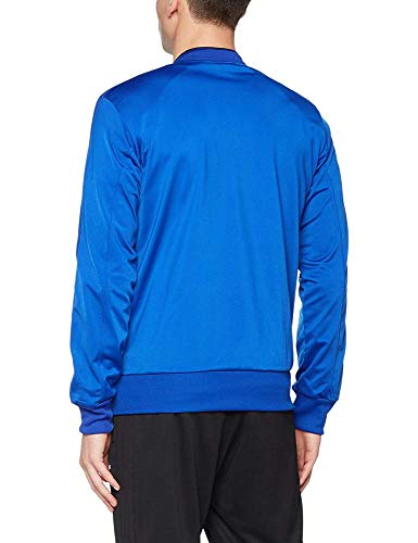 Bold blu bianca Veste scuro Homme poliestere in adidas blu Giacca Condivo 18 7p0pzq