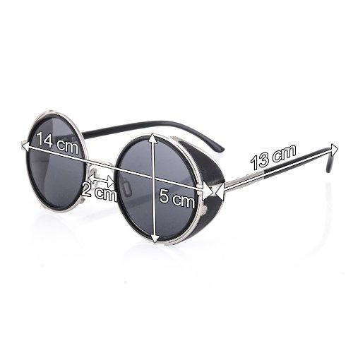 moda Dos unisex gafas de de 1980 cl sol Geek XIIrpq