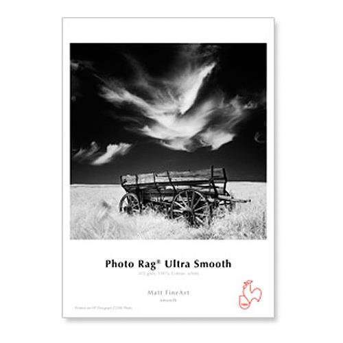 Hahnemuhle Photo Rag Ultra Smooth, 100% Rag White Matte Inkjet Paper, 305 gsm, 11x17
