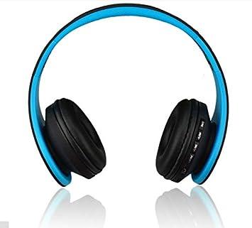 Auriculares inalámbricos con Bluetooth para oído y estéreo, plegables, inalámbricos y con cable,