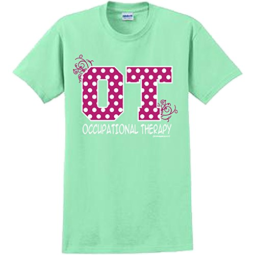 f6be73787e820 Image Sport Occupational Therapy Polka Dot T-Shirt Adult Medium