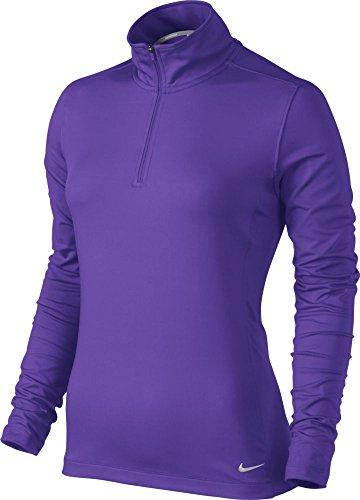 Nike Women's Half Zip Key Cover up - X-Small - Hyper Grape
