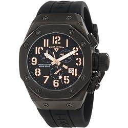 Swiss Legend Men's 10541-BB-01-RA Trimix Diver Chronograph Black Dial Watch