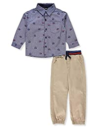 Little Rebels Boys' 2-Piece Pants Set Outfit