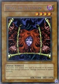 Yu-Gi-Oh! - Wall of Illusion (RP01-EN083) - Retro Pack 1 - Unlimited Edition - Common (Wall Illusion)