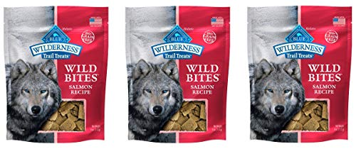 Wilderness Wild Bites - Salmon 4oz (Pack of 3)