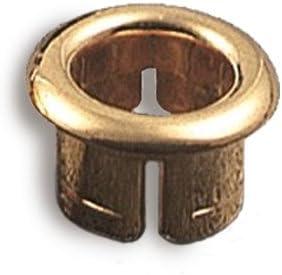 Acquastilla /Abrazadera dorada para rebosadero de lavabo