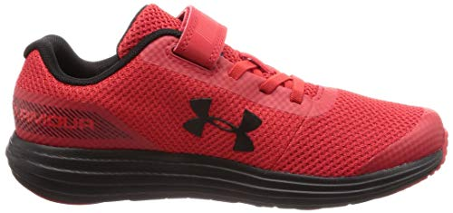 Under Armour Boys' Pre School Surge RN Alternate Closure Sneaker, Red (600)/Black, 3 by Under Armour (Image #10)
