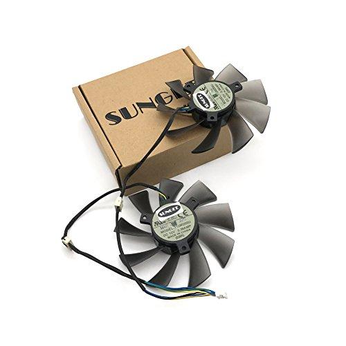 T129025SU 12V 0.38A 4PIN for ASUS HD7970 HD7950 GTX680 DirectCU II fan (2PCS/LOT) by Z.N.Z (Image #4)