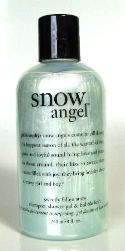 Philosophy Snow Angel 3 in 1 Shampoo, Shower Gel & Bubble Bath 240 ml / 8 fl. oz. (White Snow Shampoo)