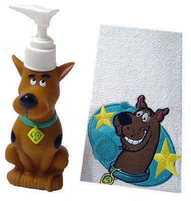 Scooby-Doo Bath Buddies 2 Piece Set (Doo Scooby Bath)