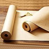 "Made in USA Brown Kraft Paper Jumbo Roll 17.75"" x"