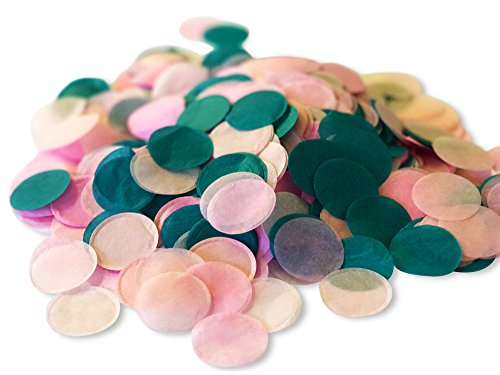 Biodegradable Paper Confetti for Holiday, Anniversary, Birthday, Graduation, Wedding, Bridal & Baby Parties. 1