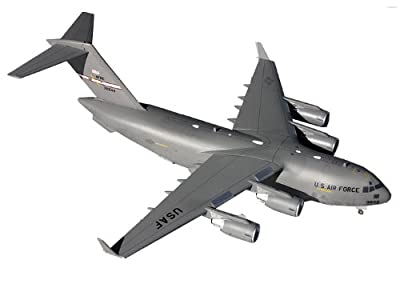 Gemini Jets US Air Force C-17 (Wright-Patterson AFB) Aircraft Diecast Vehicle, Scale 1/200